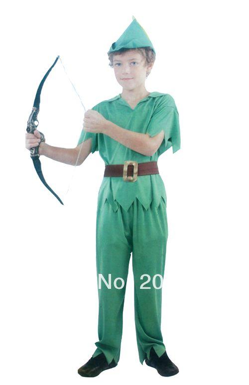 Ну вечеринку косплей костюм хэллоуин робин зеленый гоблин питер пэн питер пэн детей карнавальные костюмы