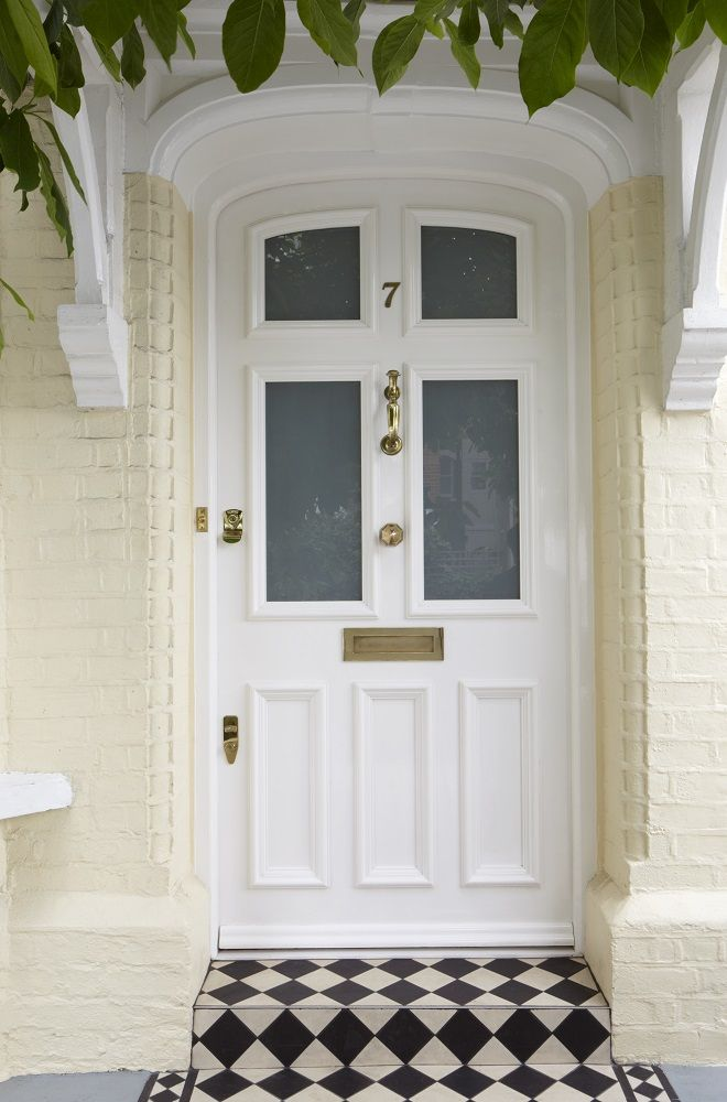 Timber Front Door manufactured and installed by The Sash Window Workshop