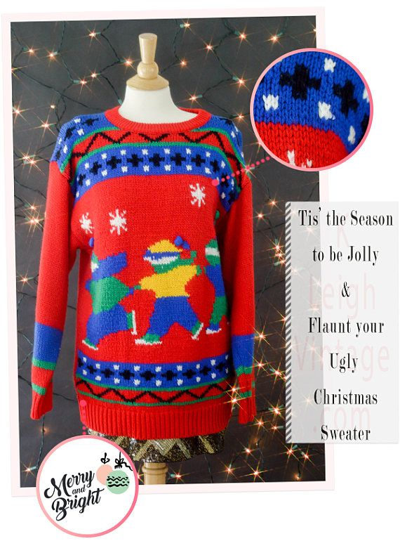 Ugly Christmas Sweater Tacky Christmas Sweater Ugly