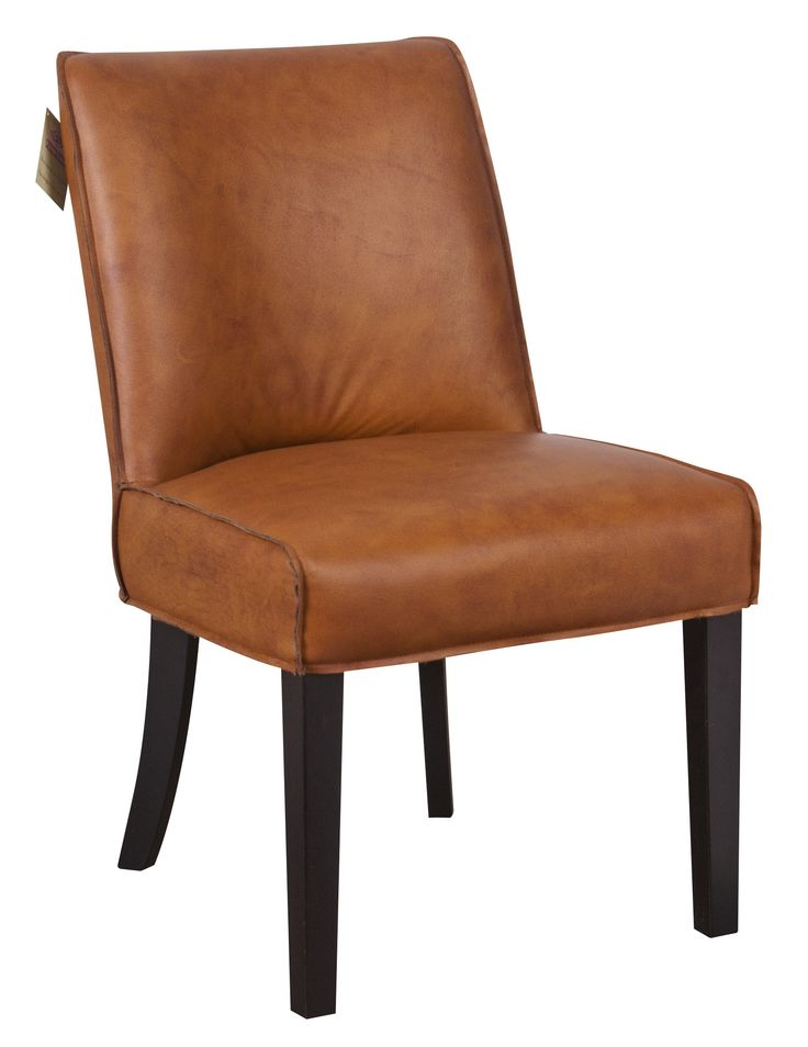 Halston Leather Dining Chair | Cornerstone Home Interiors