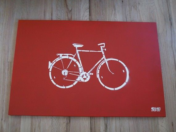 Bicycle Stencil: Gifting 2014, Building Ideas, Craft Gifting, Bicycle Stencil, Craft Ideas
