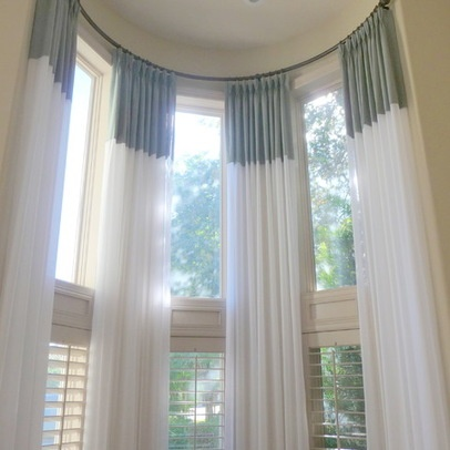 240 best images about 2 story window treatments on pinterest for 2 story window treatments