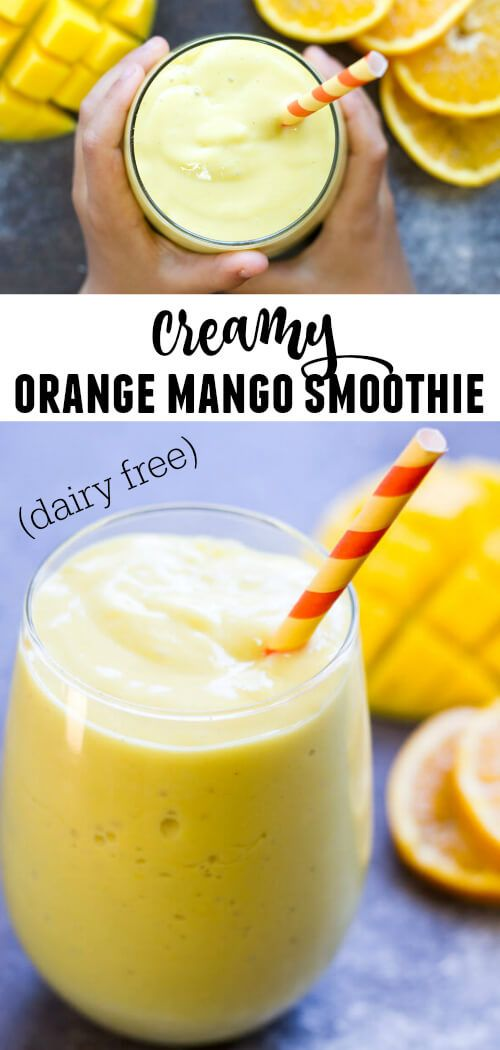 """I like to call this mango orange smoothie """"sunshine in a glass."""" With only 4 simple healthy ingredients, it's the perfect addition to your breakfast or afternoon snack. Dairy free.  Paleo.  Whole30 compliant."""