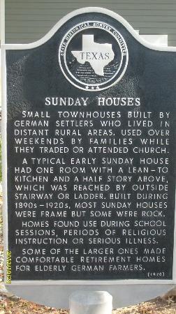 Sunday Houses - Fredericksburg, Texas