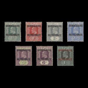 Gilbert & Ellice Islands 1911 (Unused) Provisionals