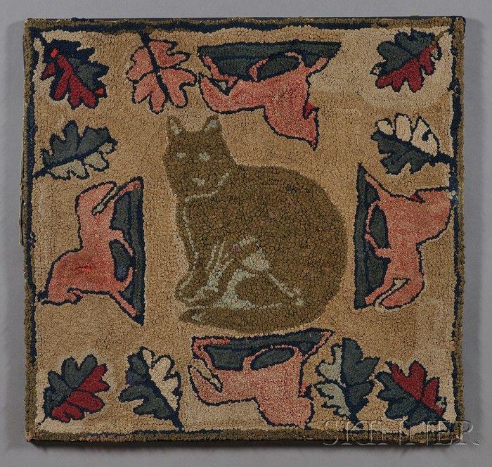 50 Best Cat Rug Antique/Vintage Images On Pinterest