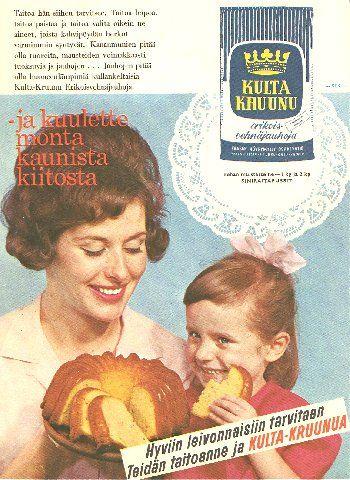 Mainos: Kultakruunu - 1963