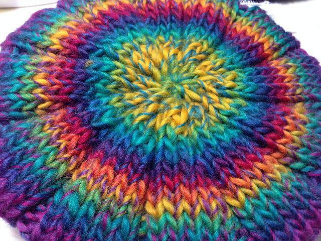 Ravelry: demw's Katia Art Wool improvised cap