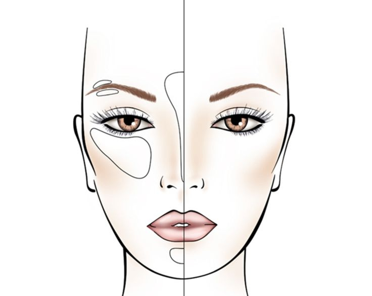 Contouring - Visage oval – MAKE UP FOR EVER
