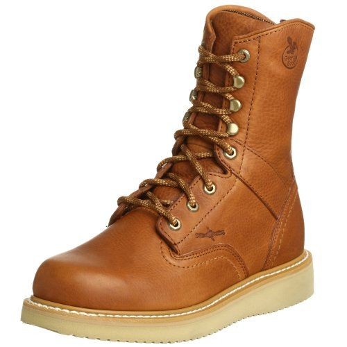 Georgia Boot Men`s 8 Wedge Work Boot $76.99 (save $79.00)