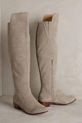 Kelsi Dagger Valerie Boots Grey #Boots #anthrofave #anthropologie