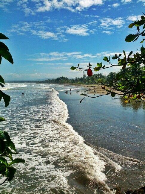 Beach at Puerto Limon, Costa Rica