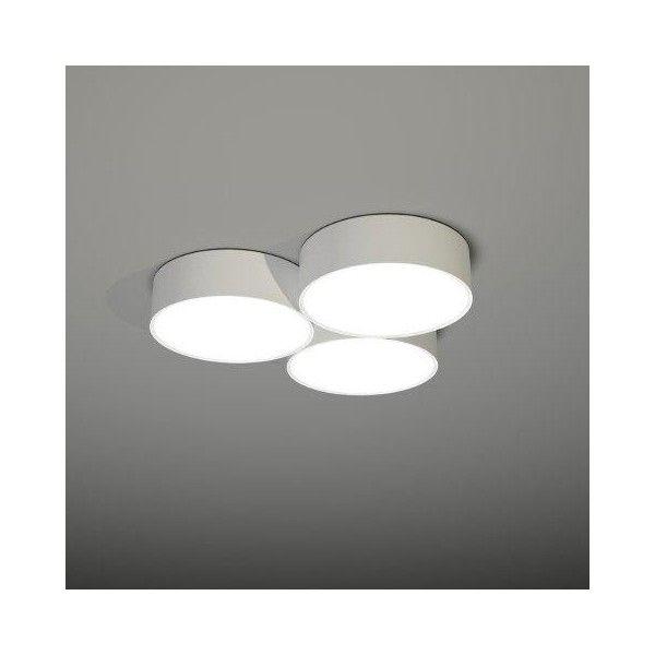 ZAMA 133 (biały, czarny, szary) - Lampa sufitowa Plafon Shilo - Light-House.pl