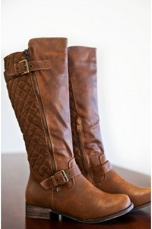 Wild Horses Boots. Love the look.