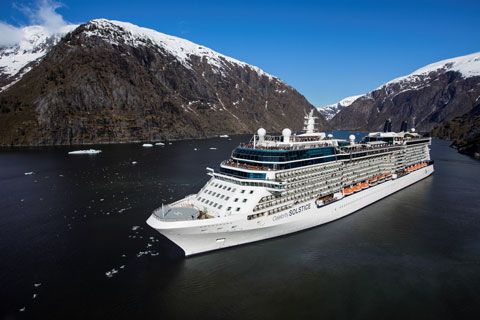 Celebrity Solstice!  One of the best ways to experience Alaska!