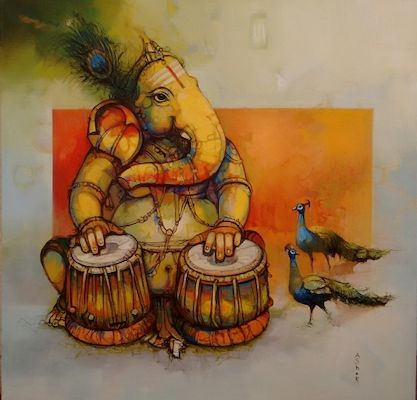 Tryst with Music by Ashok V Bhandare on Artflute.com'
