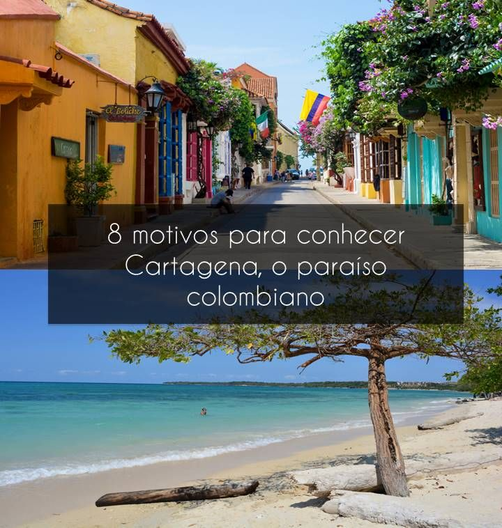 Cartagena das Índias, na Colômbia, é um daqueles destinos que a gente ama visitar: cidade histórica que mescla lugares charmosos com um destino de praia incrível - e não é qualquer praia não: estamos falando de um mar do Caribe, com água cor turquesa e cristalina, formando um azul sem igual. Rodeado por areias branquinhas, a cidade possui boas opções de passeios que variam desde conhecer praias próximas a desvendar os segredos e histórias da cidade.