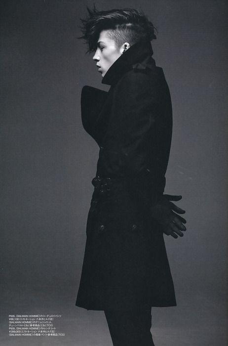 ash stymest by satoshi sakurai for huge magazine october 2009; styled by tsuyoshi noguchi.