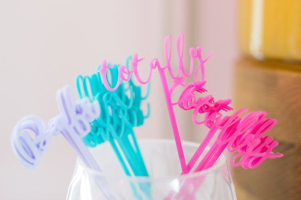 Lisa Frank Rainbow Birthday!  Stir Sticks: The Roc Shop | Photography: Shay & Olive | Styling + Florals: Celebrate Colorfully | Venue: The Coterie |