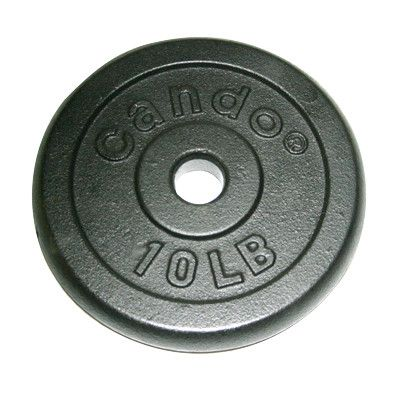 Cando Iron Disc Weight Plate (Set of 2) Weight:
