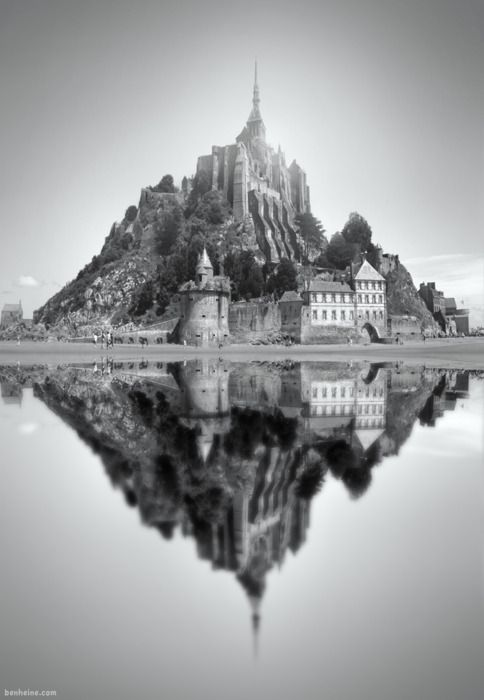 Mont Saint Michel by Ben Heine