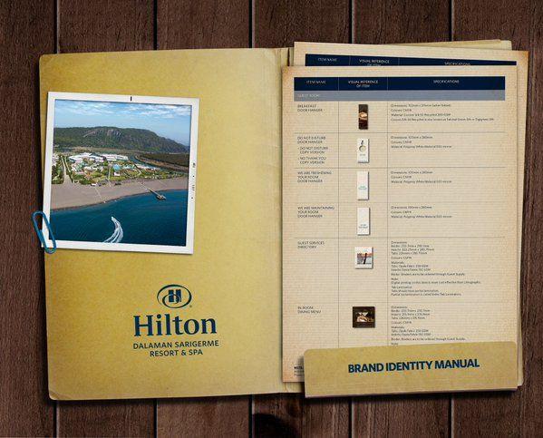 Kurumsal Kimlik ve Tanıtım ürünleri / Hilton Dalaman Sarıgerme Resort & Spa / (Kişisel arşivden)