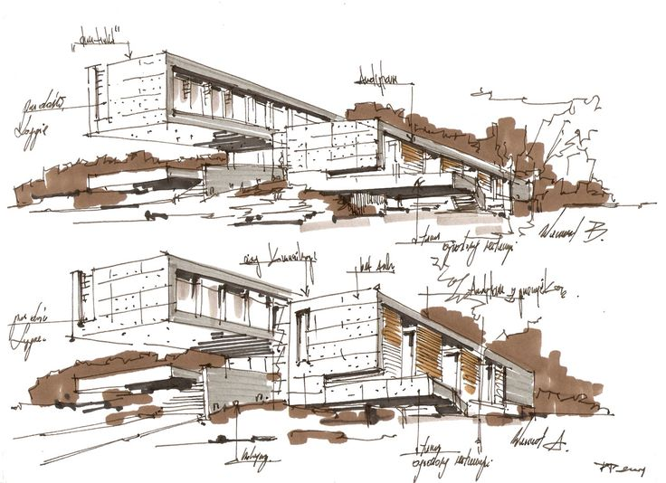 Best Architecture Design Images On Pinterest Sketch