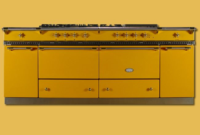 Lacanche French Ranges: Cooking Range, Dreams Range, 2200 Yellow, Sully 2200, French Stove, Yellow Stove, French Range, Gas Stove, Beautiful Cooking