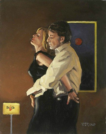 Jack Vettriano expresses love and desire in such a beautiful way.