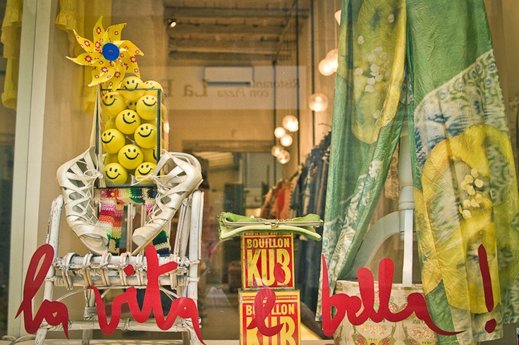 wait and see - Via Santa Marta 14, Milano 'La vita è bella' is their slogan and this eclectic boutique sells some of the best young brands in Milano. #lolagracetour #milan #shopping
