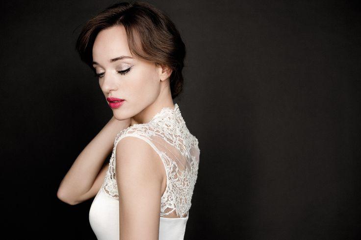 Daalarna Couture Lace Bolero _ White Collection