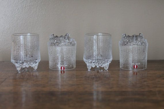 Vintage Iittala Glass Shot Glass  Finland by campeauscollectables