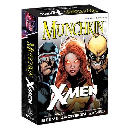 Card Games - Munchkin - X-Men Edition
