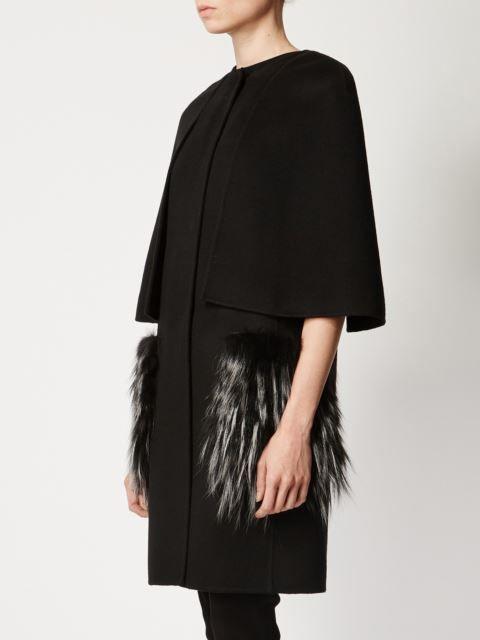 Fendi fox fur pocket coat                                                                                                                                                                                 More