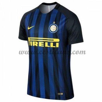 Inter Milan Fotbalové Dresy 2016-17 Domáci Dres