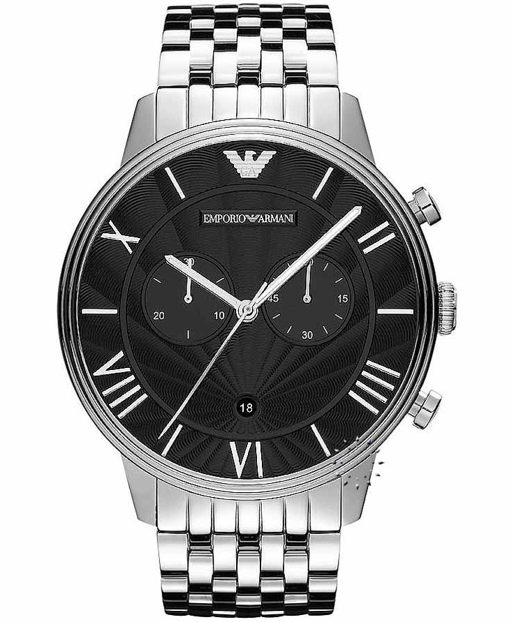 Emporio Armani Classic Stainless Steel Bracelet, 365€ http://www.oroloi.gr/product_info.php?products_id=33549