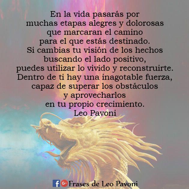 En la vida pasarás por muchas etapas alegres y dolorosas que marcaran el camino...