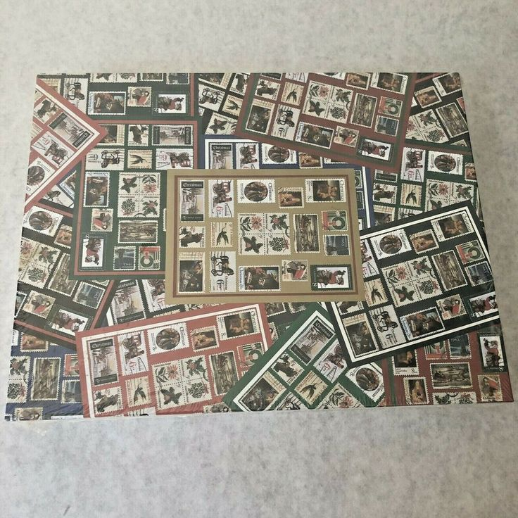 Jigsaw Puzzle 500 Pieces Hallmark USPS Holiday Stamps