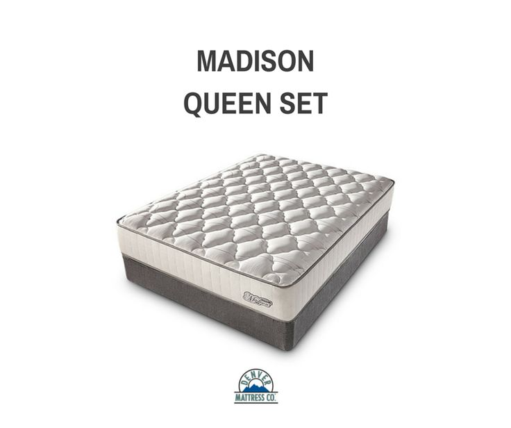 Excellent For S And Light Sleepers The Madison Plush By Denver Mattress Is Perfect
