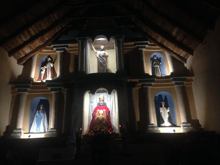 Altar iglesia san Pedro
