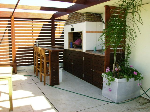 17 best images about casas y patios on pinterest gardens for Techos de tejas para patios exteriores