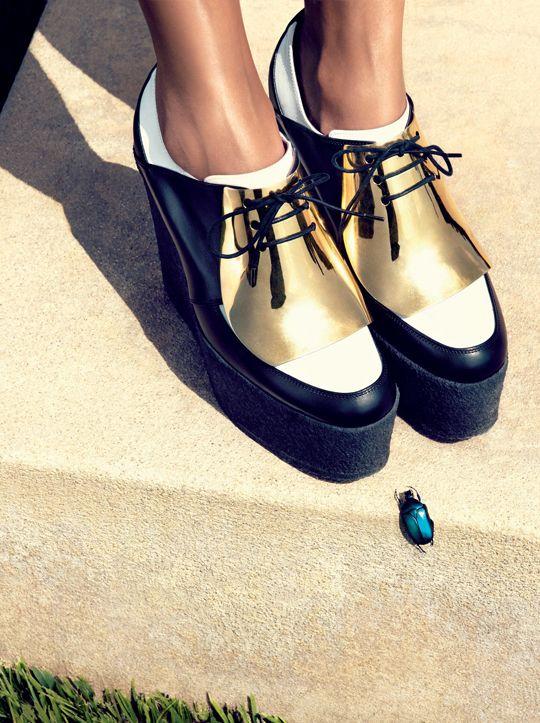 Tren Gaya Maskulin dengan Sepatu Oxford | Style.com Indonesia