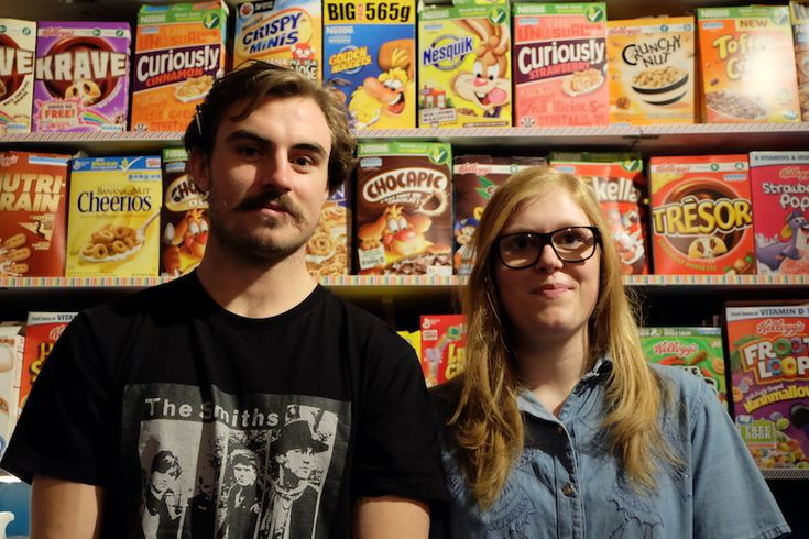 """Un tazón de cereales por seis libras: los dueños de """"Cereal Killers"""", en Brick Lane"""