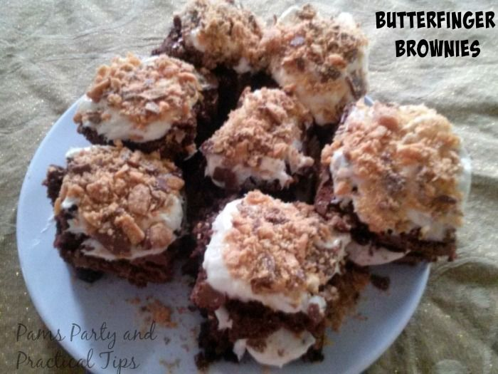 Butterfinger Brownies | Brownies and Recipes