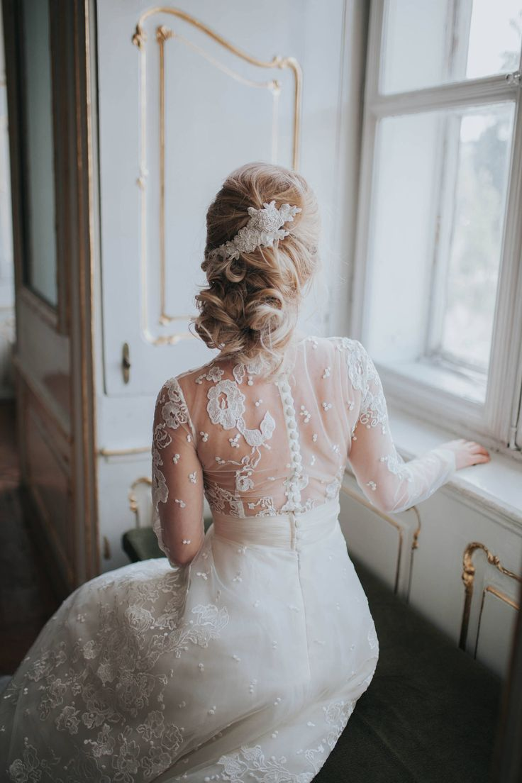 A personal favourite from my Etsy shop https://www.etsy.com/listing/498257480/wedding-bridal-hair-lace-accessory-ivory