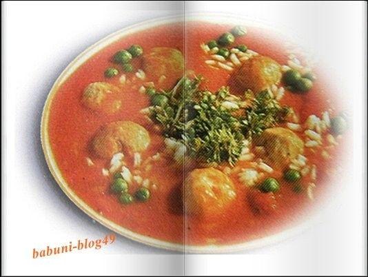 Pomidorowa z pulpetami | Babcia radzi, coś tam ...