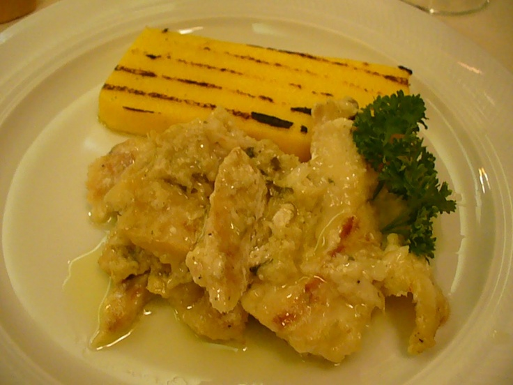 Baccalà alla Vicentina - Vicenza, Italy Salted cod & polenta