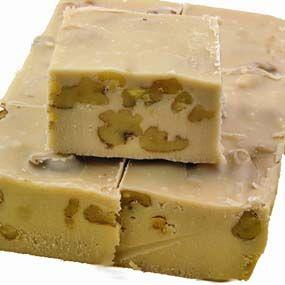 Maple Nut Fudge