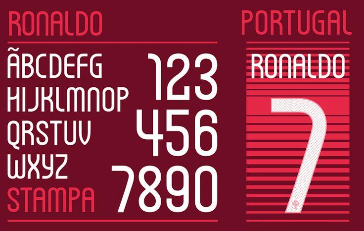 FIFAワールドカップブラジル大会用にNIKEが開発したフォントが公開「NIKE world cup fonts」