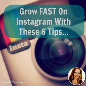6 Tips for Instagram Marketing #socialmedia